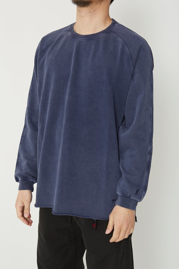 TALECUT SWEAT DOUBLE NAVY