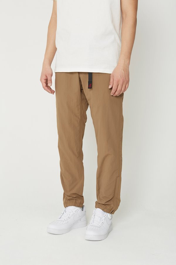 SHELL JOGGER PANTS TAN