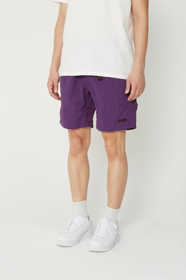 SHELL PACKABLE SHORTS PURPLE
