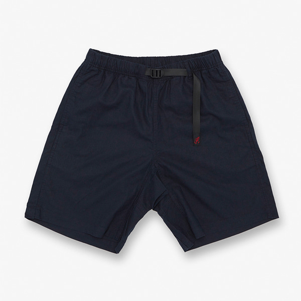 LINEN COTTON G-SHORTS DOUBLE NAVY