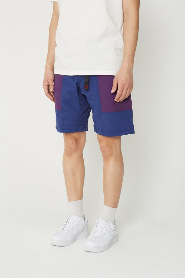 SHELL GEAR SHORTS NAVY x PURPLE