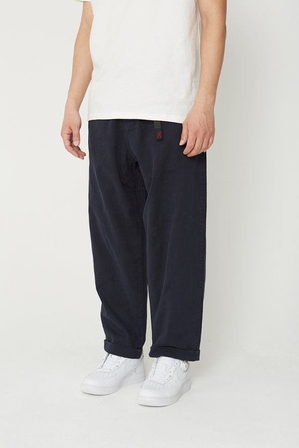 RESORT PANTS DOUBLE NAVY