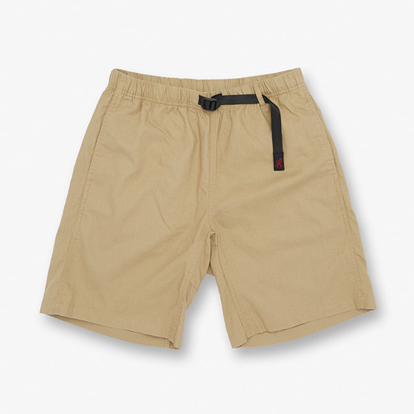 LINEN COTTON G-SHORTS KHAKI