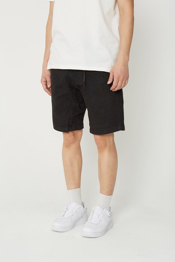 DENIM ST-SHORTS BLACK ONE WASH