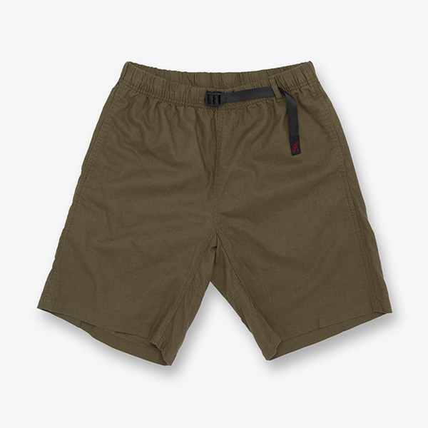 LINEN COTTON G-SHORTS OLIVE