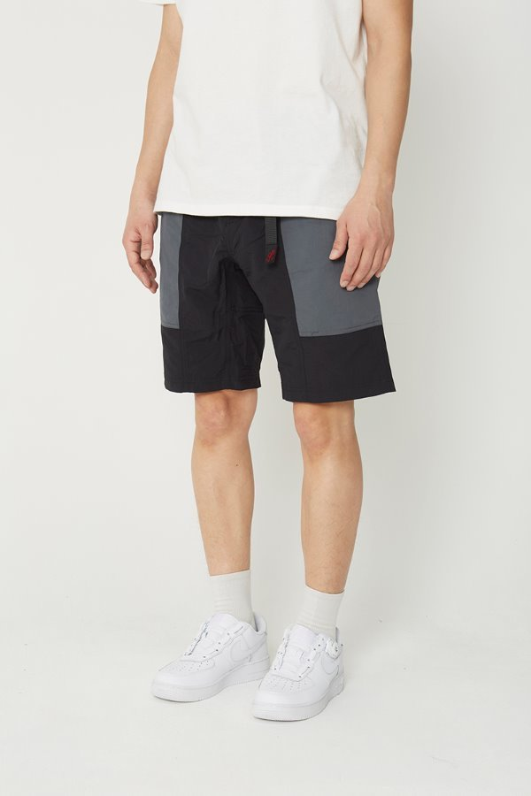 SHELL GEAR SHORTS BLACK x CHARCOAL