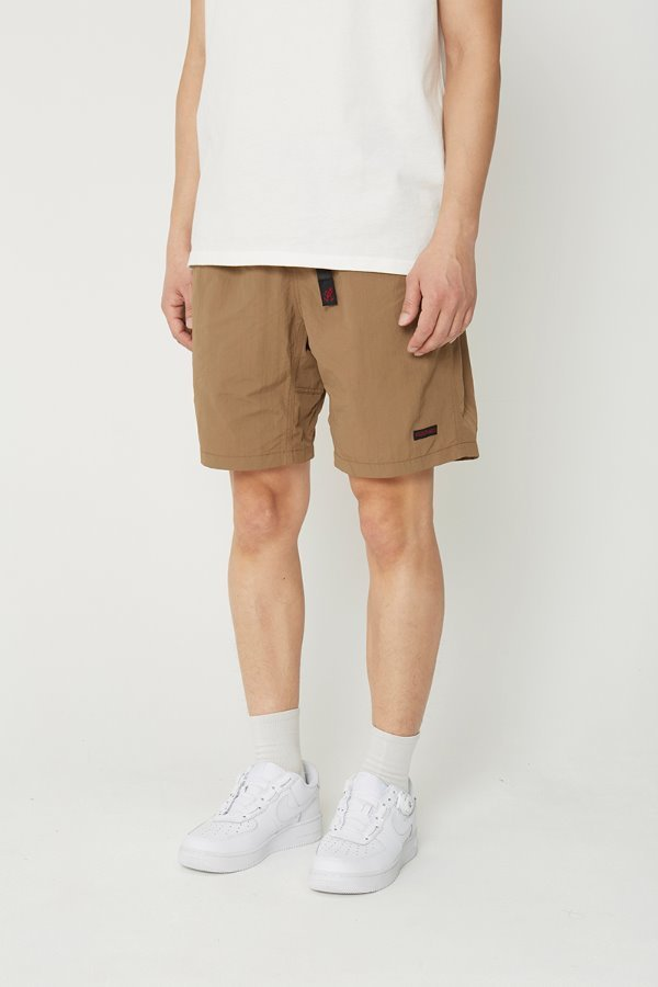 SHELL PACKABLE SHORTS TAN