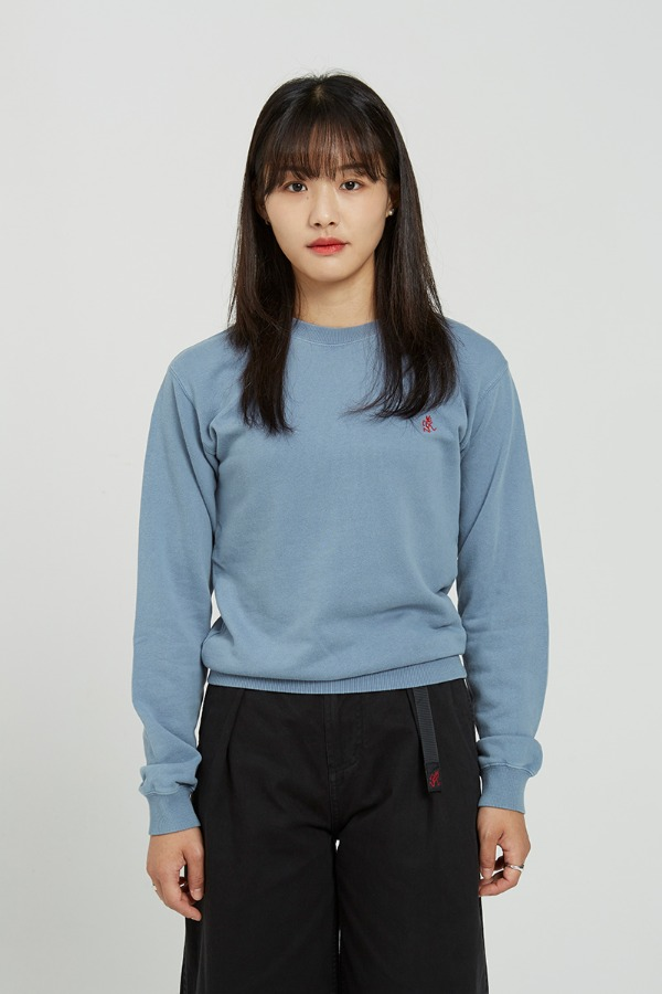 SWEAT SHIRTS SMOKY BLUE