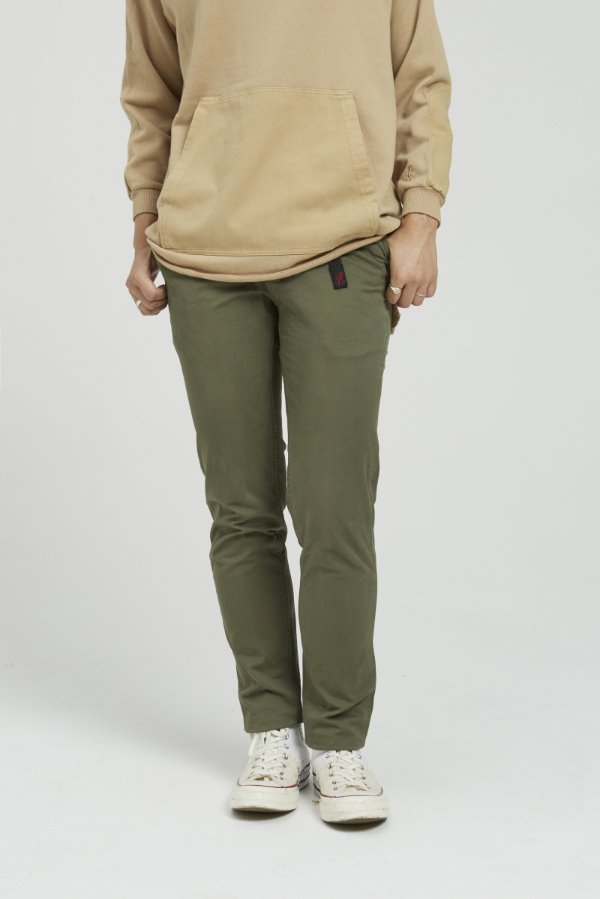 WS TAPERED PANTS OLIVE