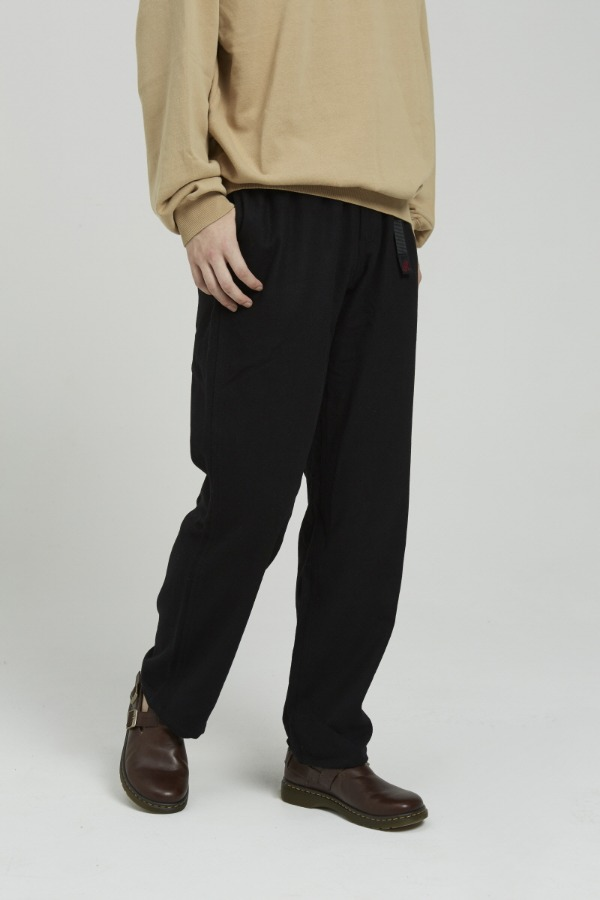 WOOL BLEND GRAMICCI PANTS BLACK
