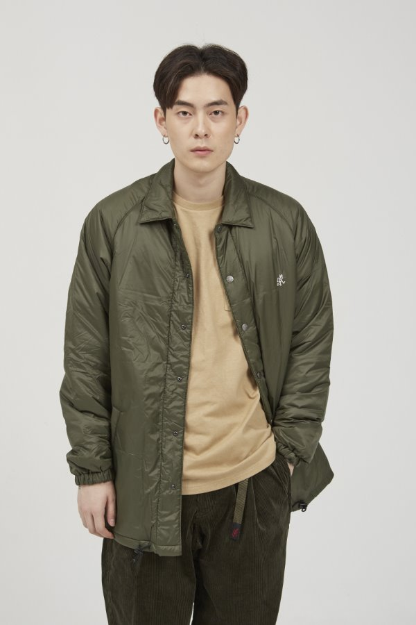 PADDING COACHES JACKET OLIVE
