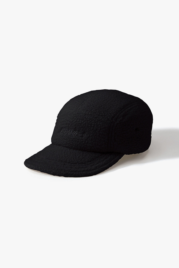 BOA FLEECE JET CAP BLACK