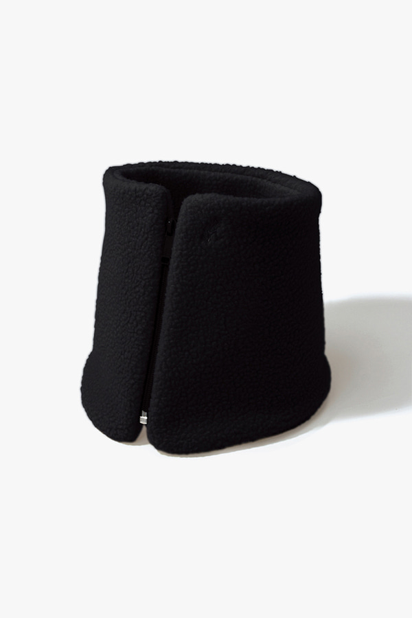 BOA FLEECE NECK WARMER BLACK