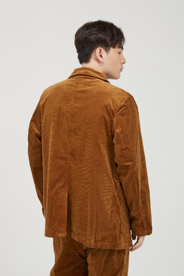 CORDUROY WORK JACKET CAMEL
