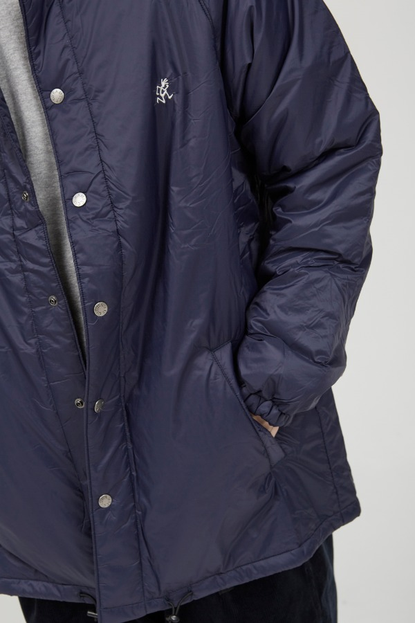 PADDING COACHES JACKET NAVY