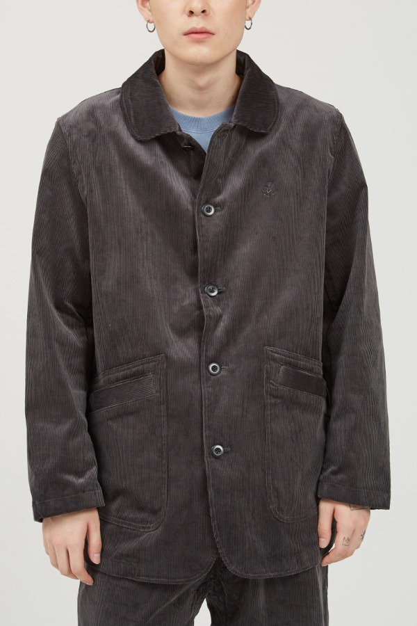 CORDUROY WORK JACKET CHARCOAL