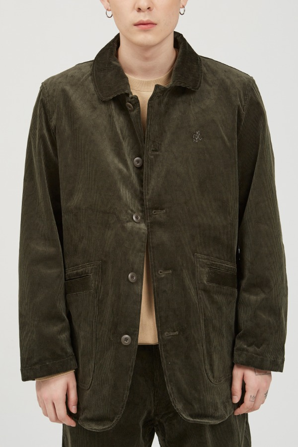 CORDUROY WORK JACKET OLIVE