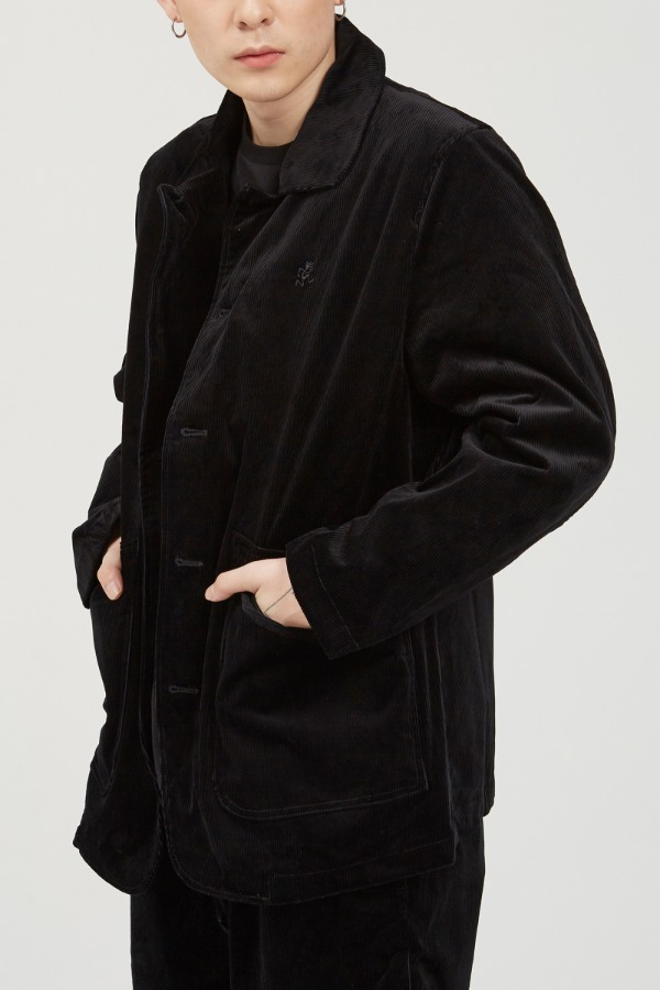 CORDUROY WORK JACKET BLACK