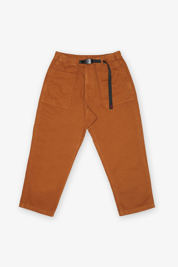 LOOSE TAPERED PANTS MOCHA