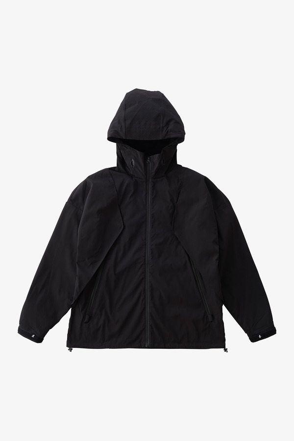 RECTAS BIG FLAP JACKET BLACK