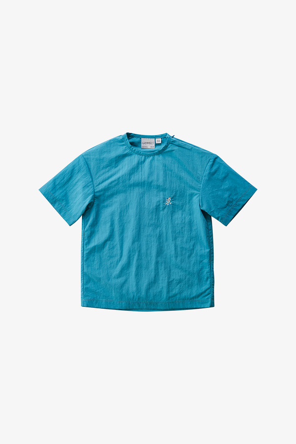 KIDS SHELL CAMP TEE AQUA