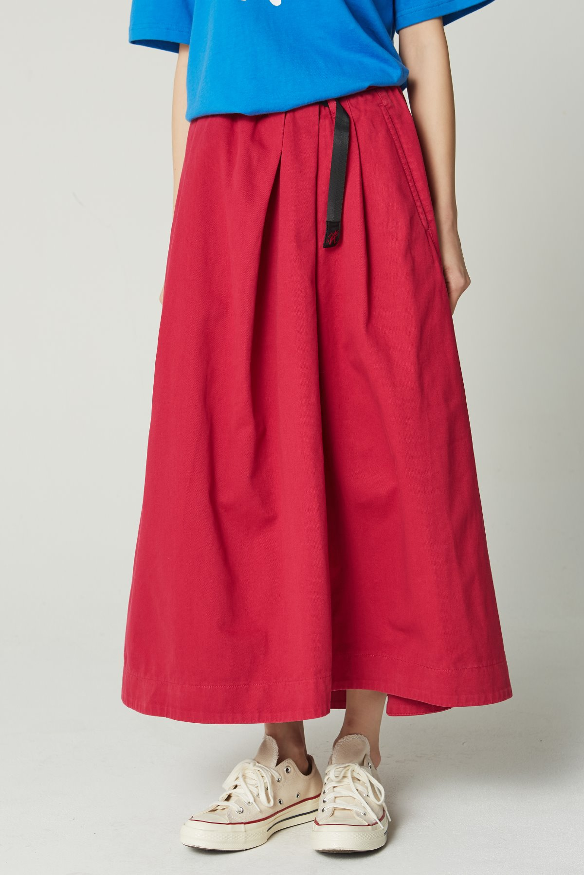TALE CUT SKIRT RASPBERRY