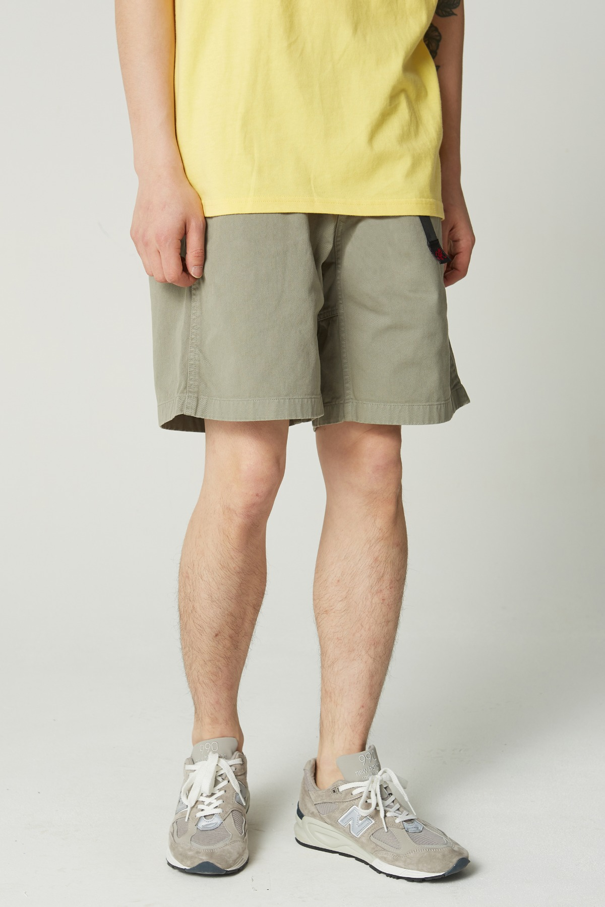 G-SHORTS KHAKI GREY