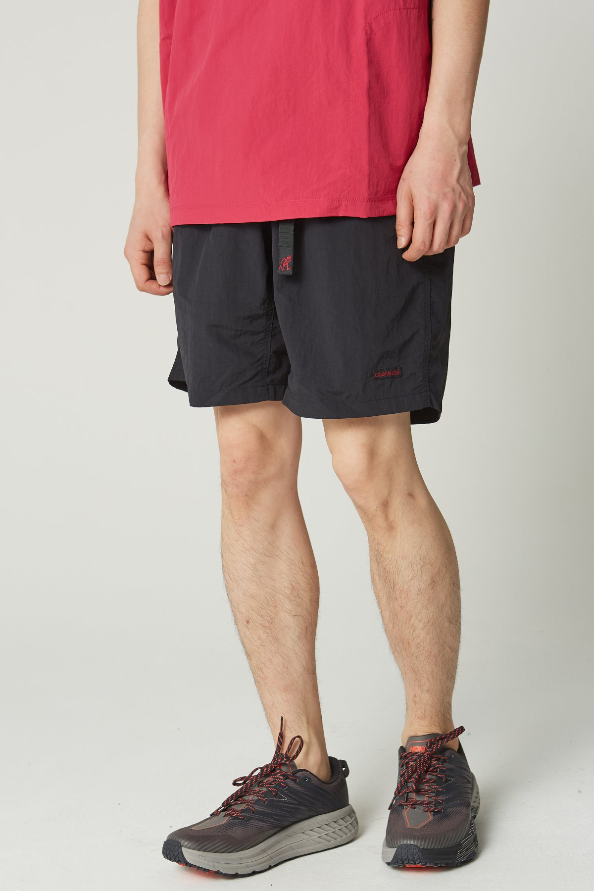 SHELL PACKABLE SHORTS BLACK