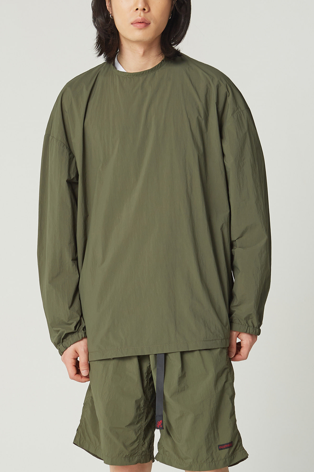 PACKABLE CAMP L/S TEE OLIVE