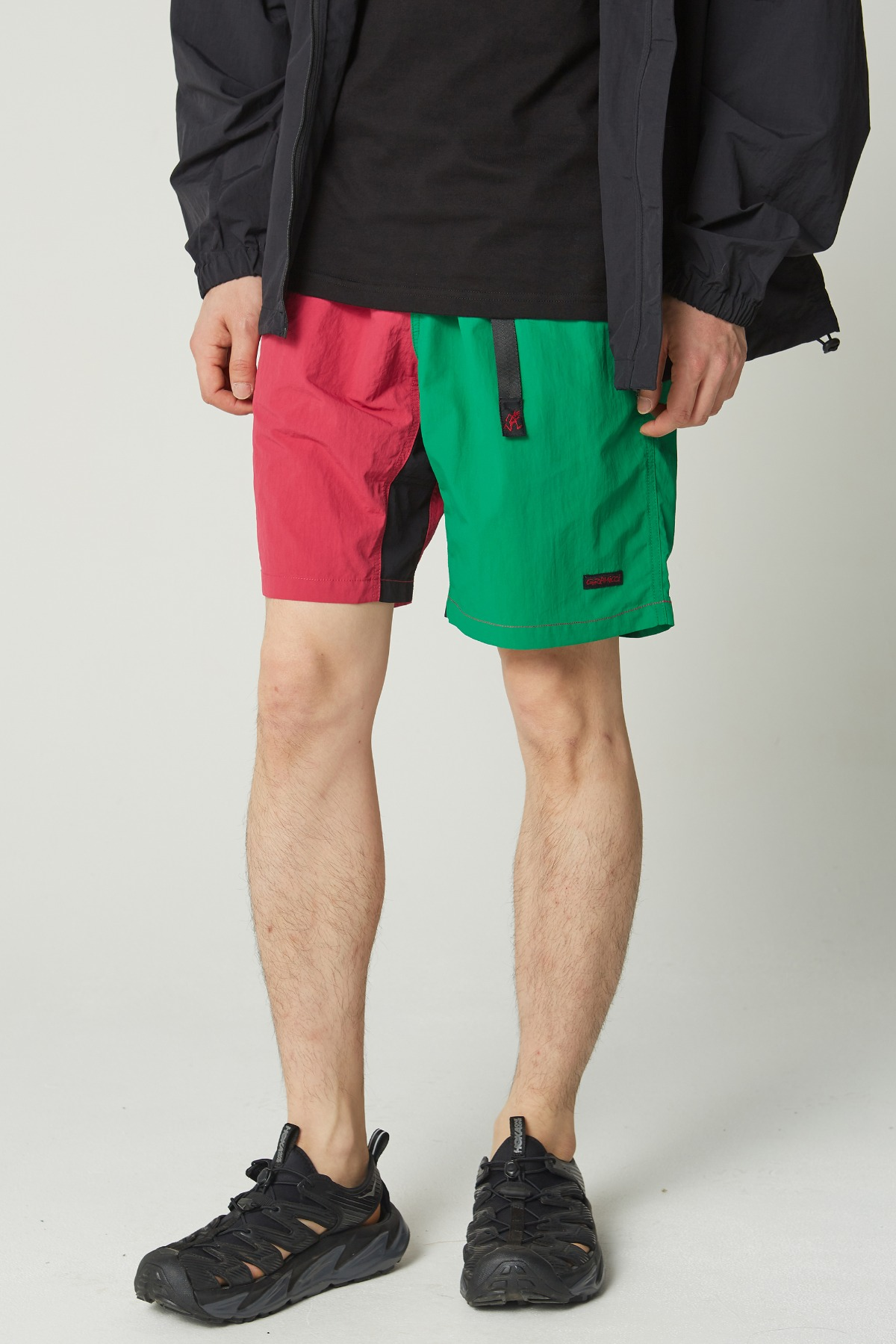 SHELL PACKABLE SHORTS RASPBERRY x KELLY