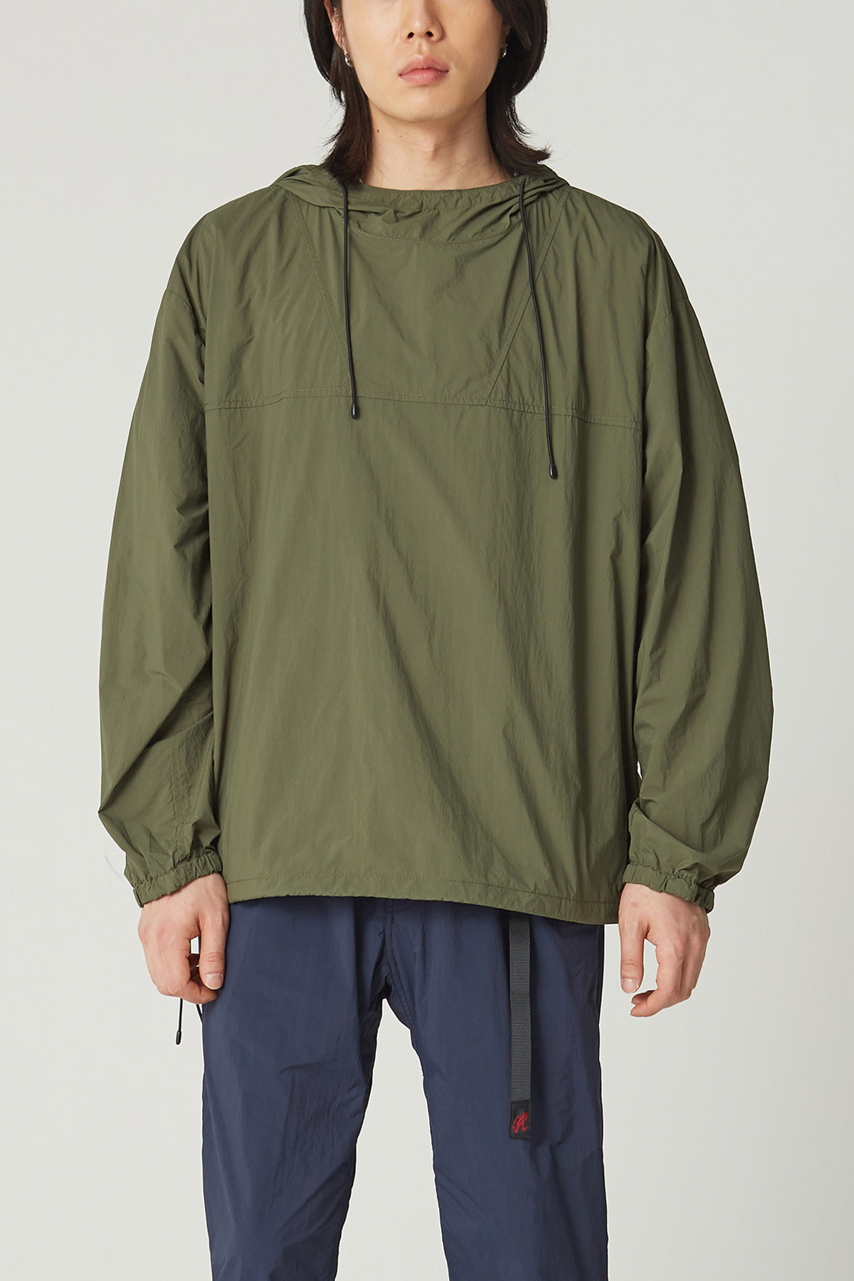 PACKABLE ANORAK PARKA OLIVE