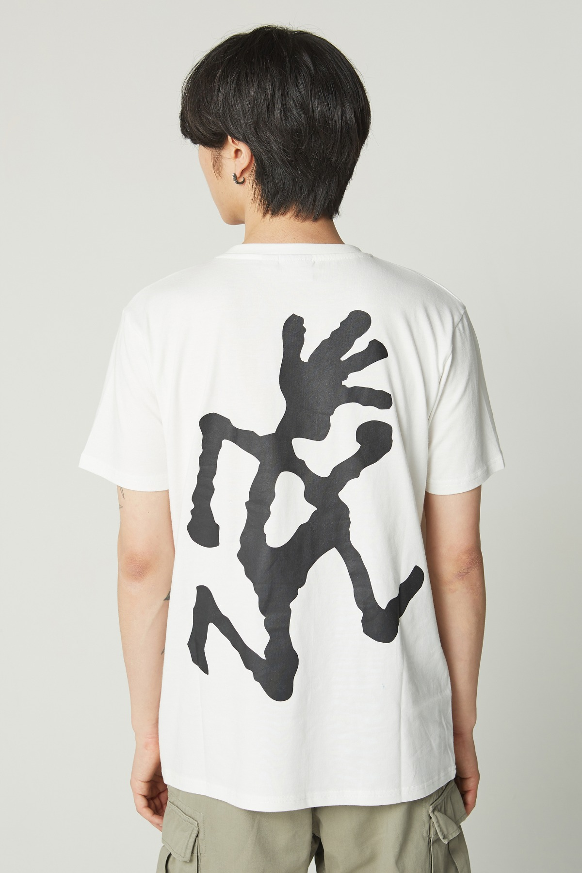 BIG RUNNINGMAN TEE WHITE