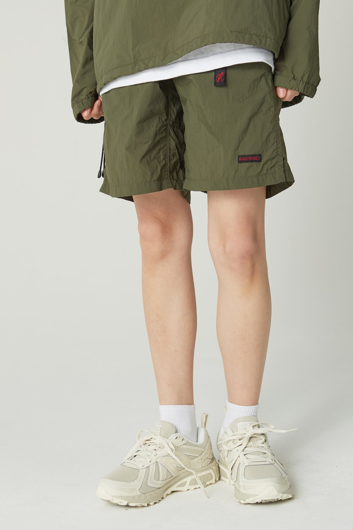 PACKABLE G-SHORTS OLIVE