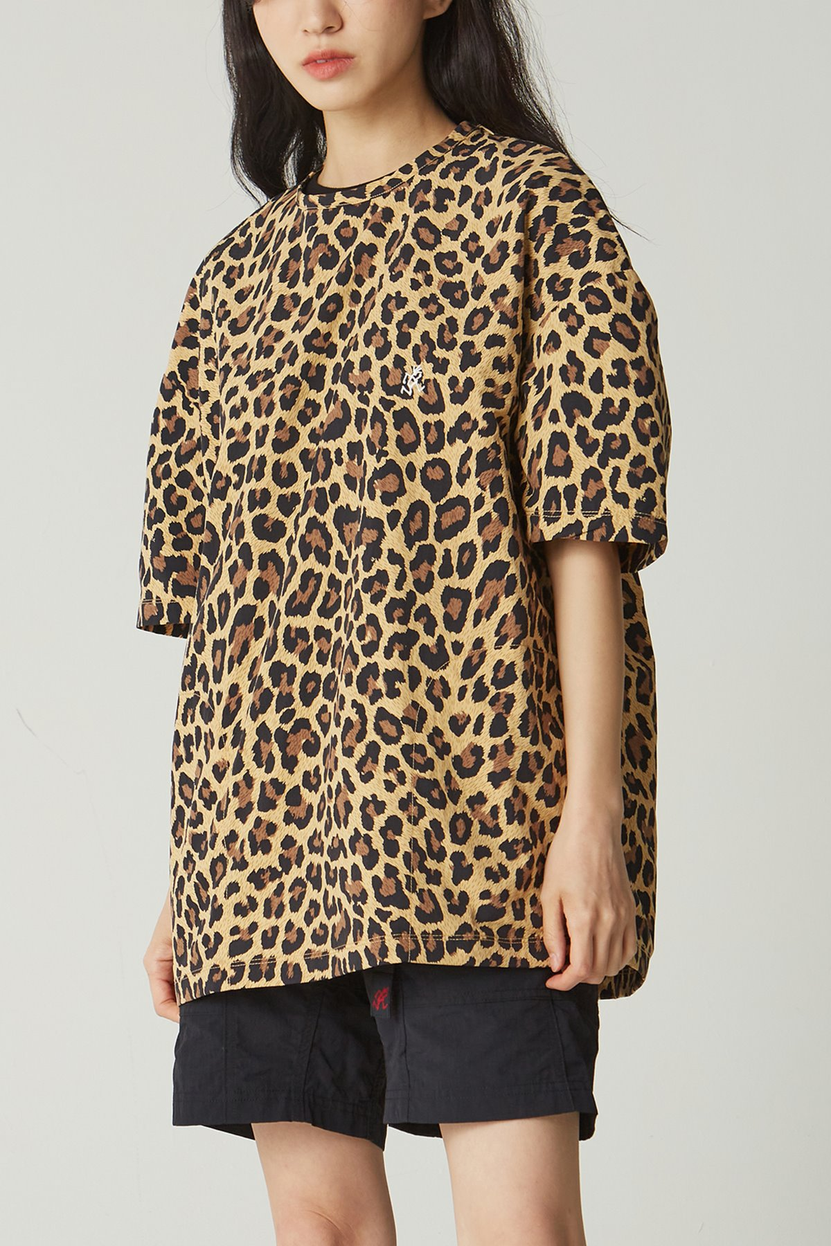 SHELL CAMP TEE LEOPARD