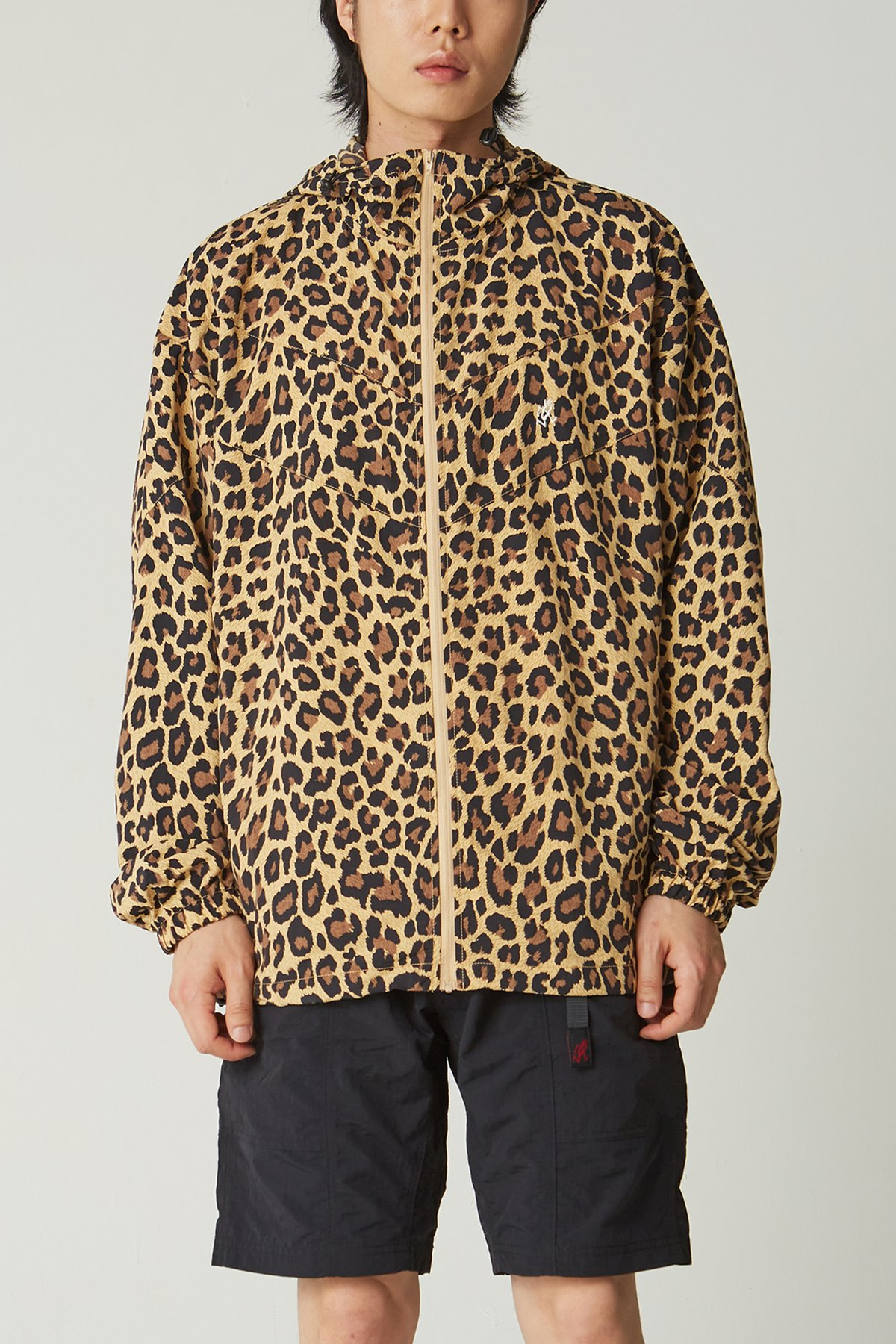 SHELL JACKET LEOPARD