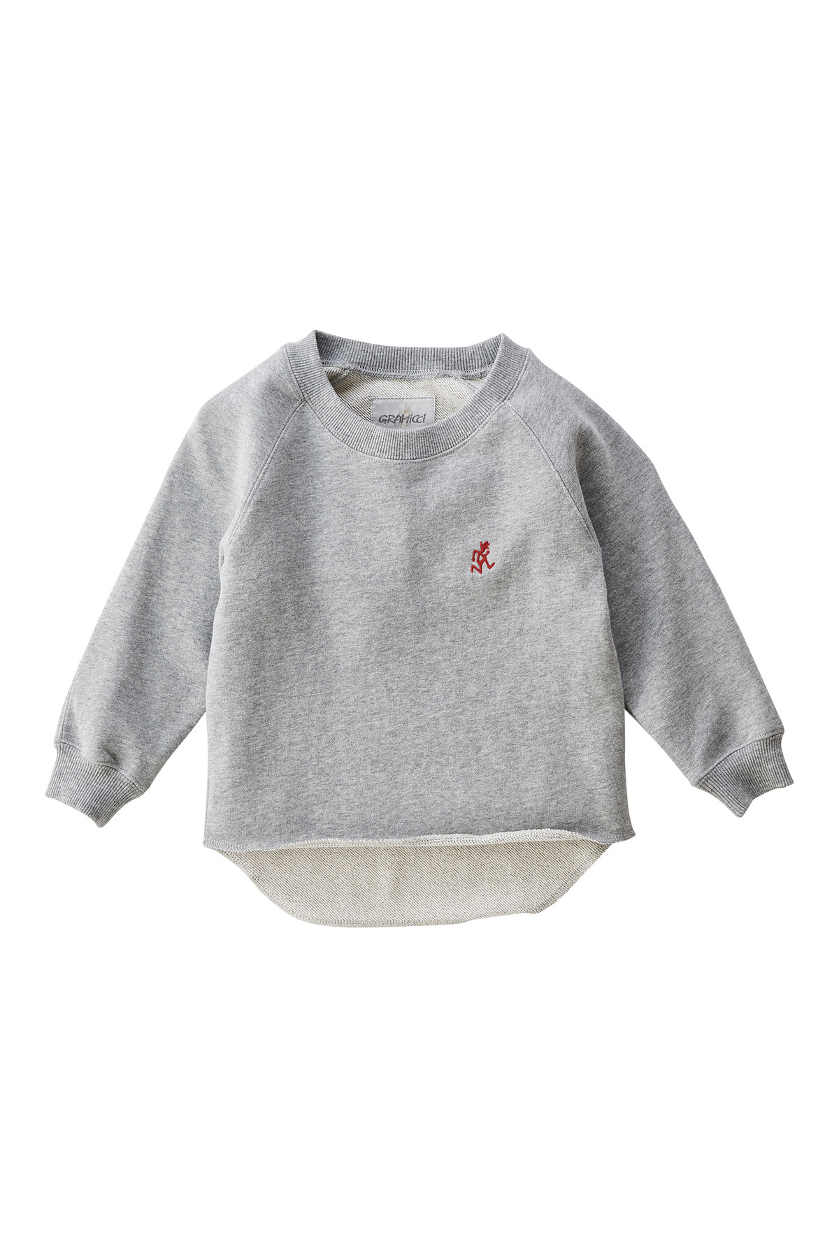 KIDS TALECUT SWEAT HEATHER GREY