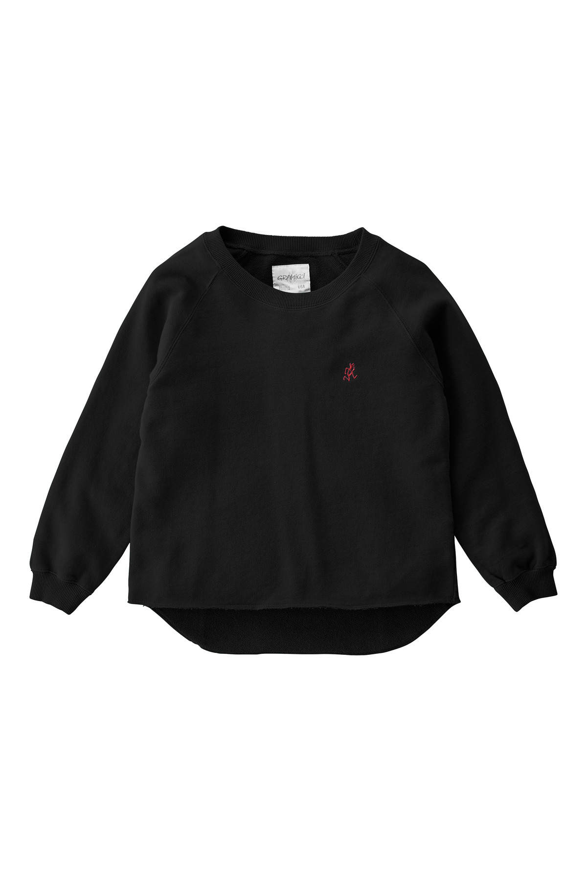 KIDS TALECUT SWEAT BLACK