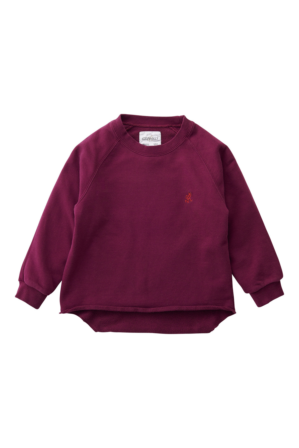 KIDS TALECUT SWEAT MAROON