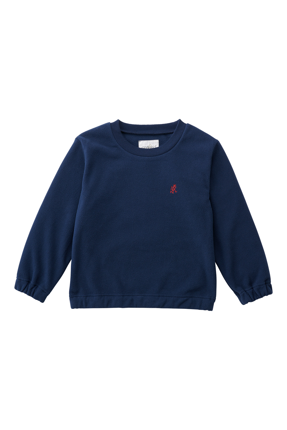 KIDS FLEECE CREW NECK NAVY