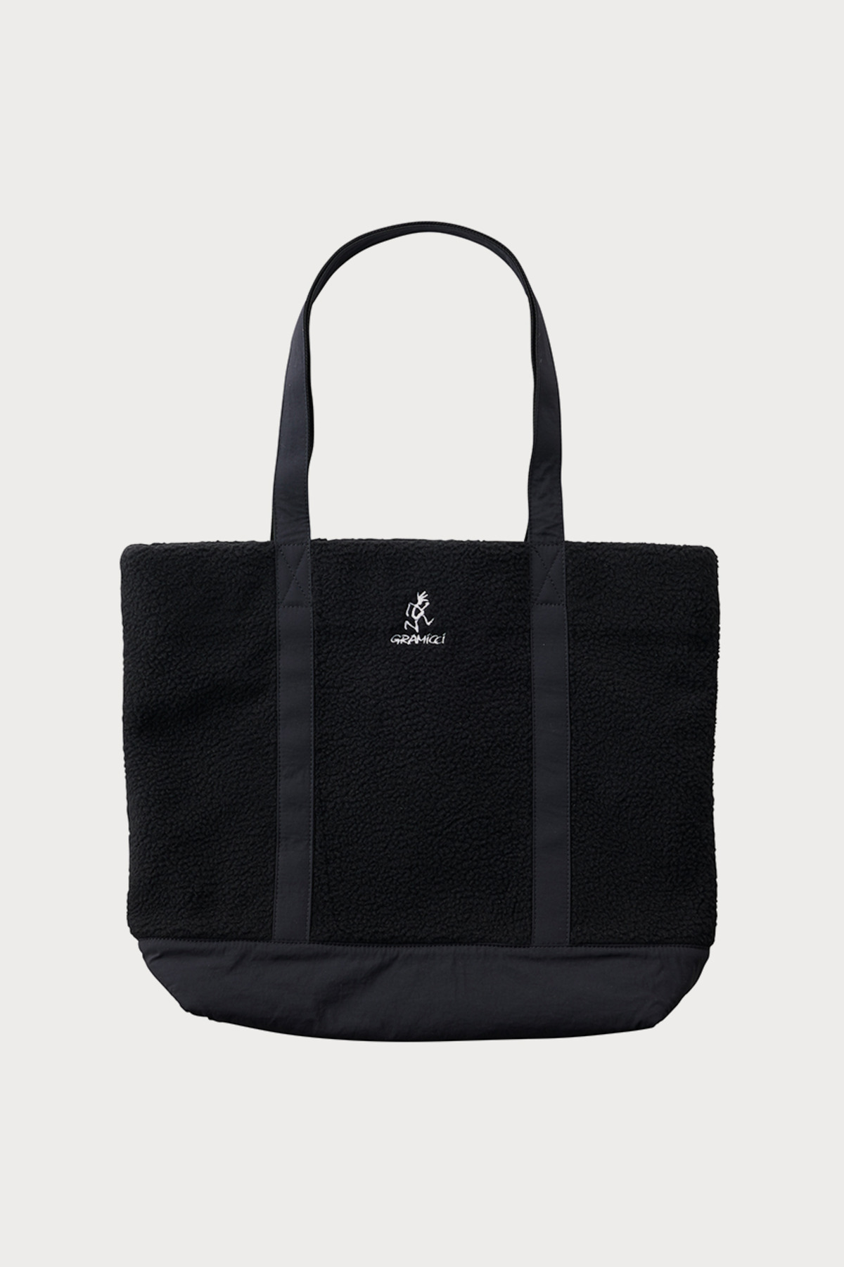 BOA FLEECE TOTE BLACK