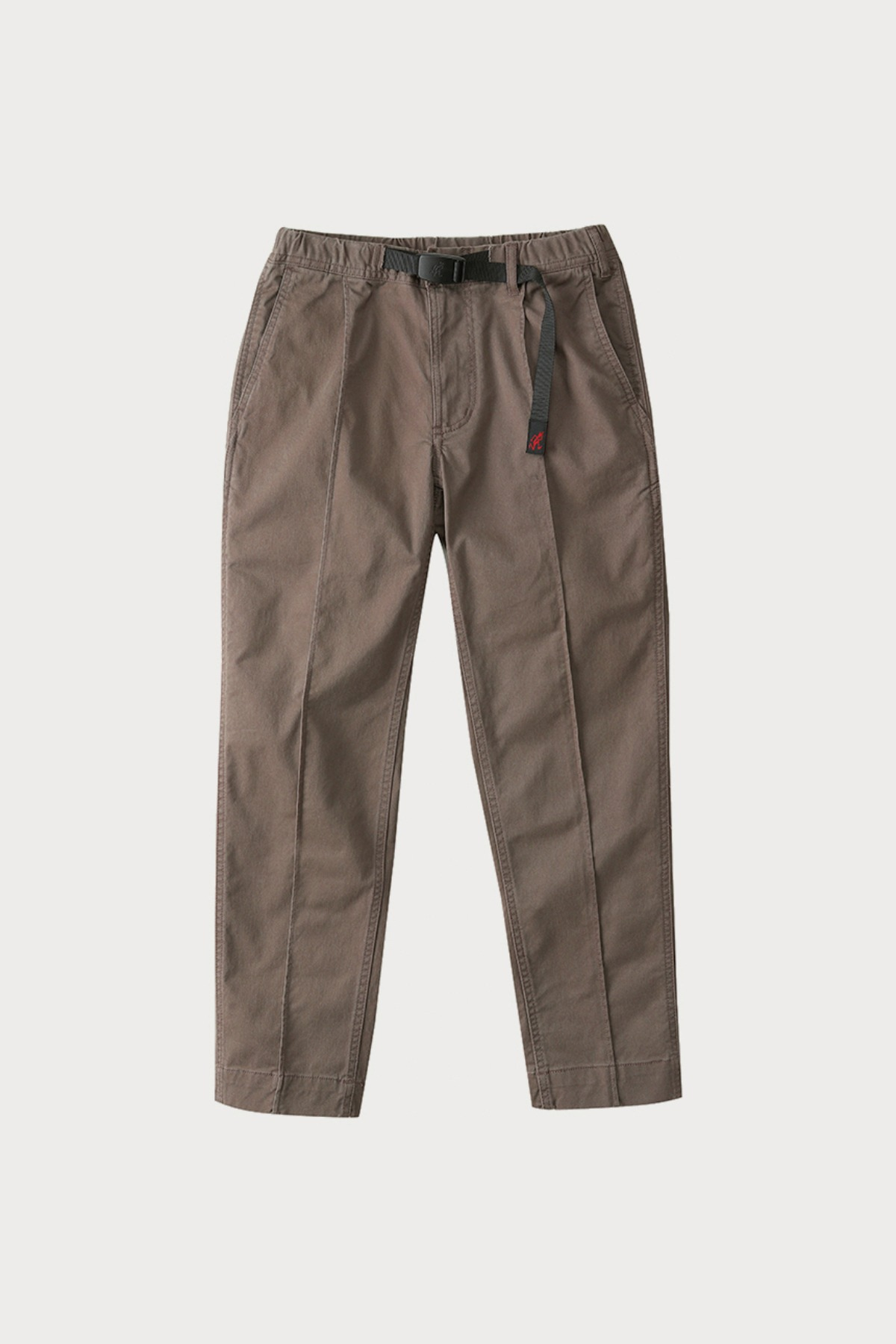 PINTUCK PANTS WALNAUT