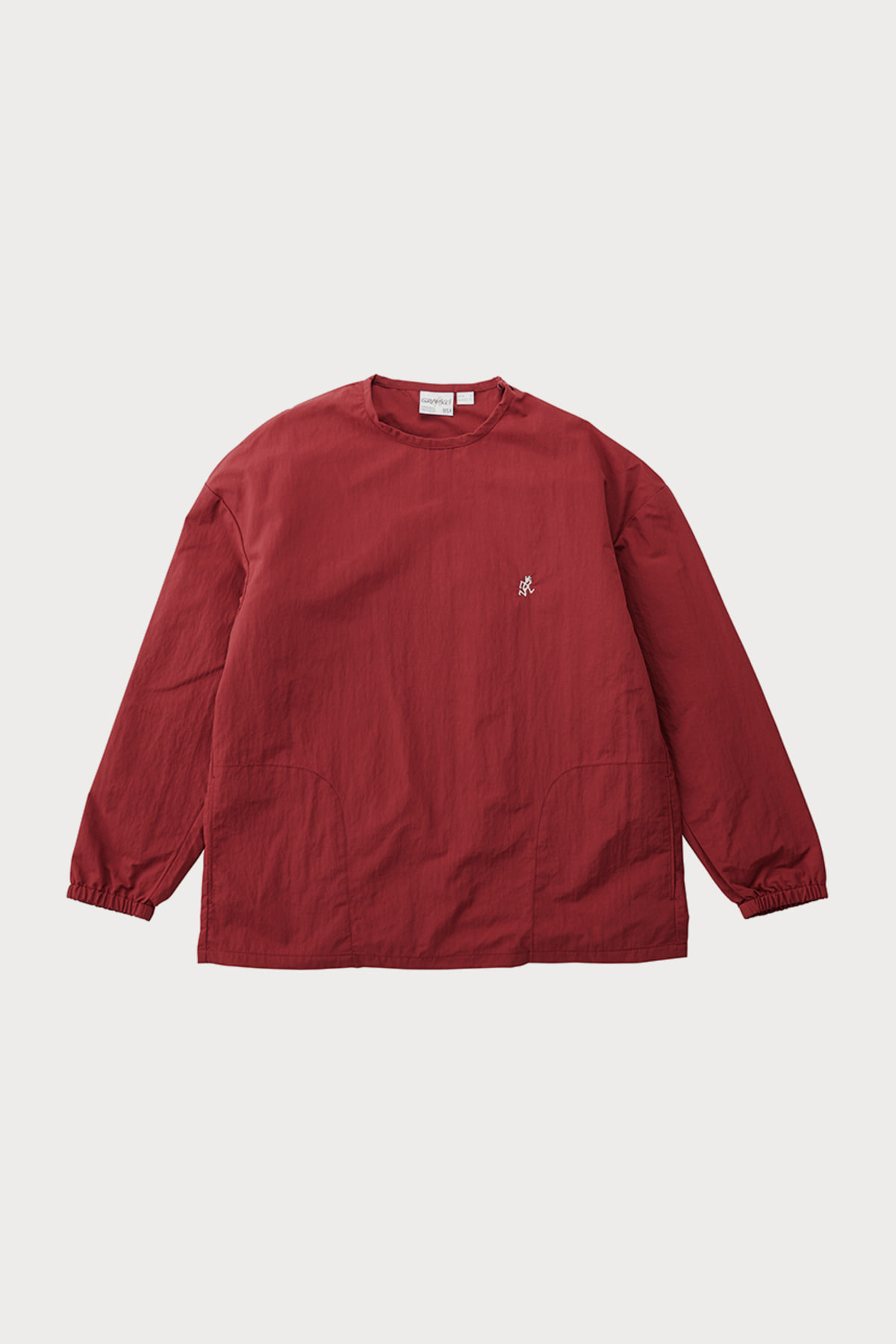 SHELL L/S TEE BURGANDY