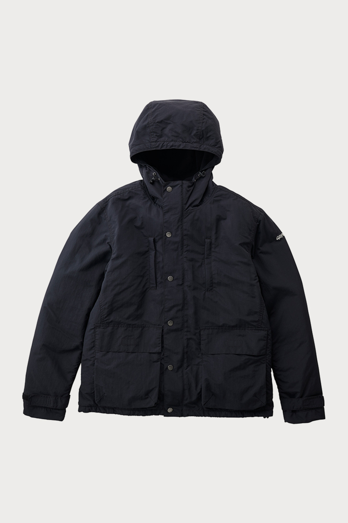 SHELL MOUNTAIN PARKA BLACK