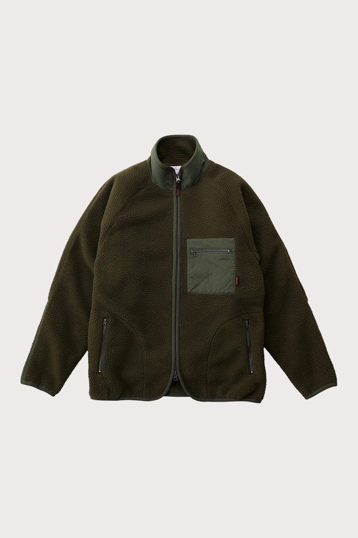 BOA FLEECE JACKET OLIVE