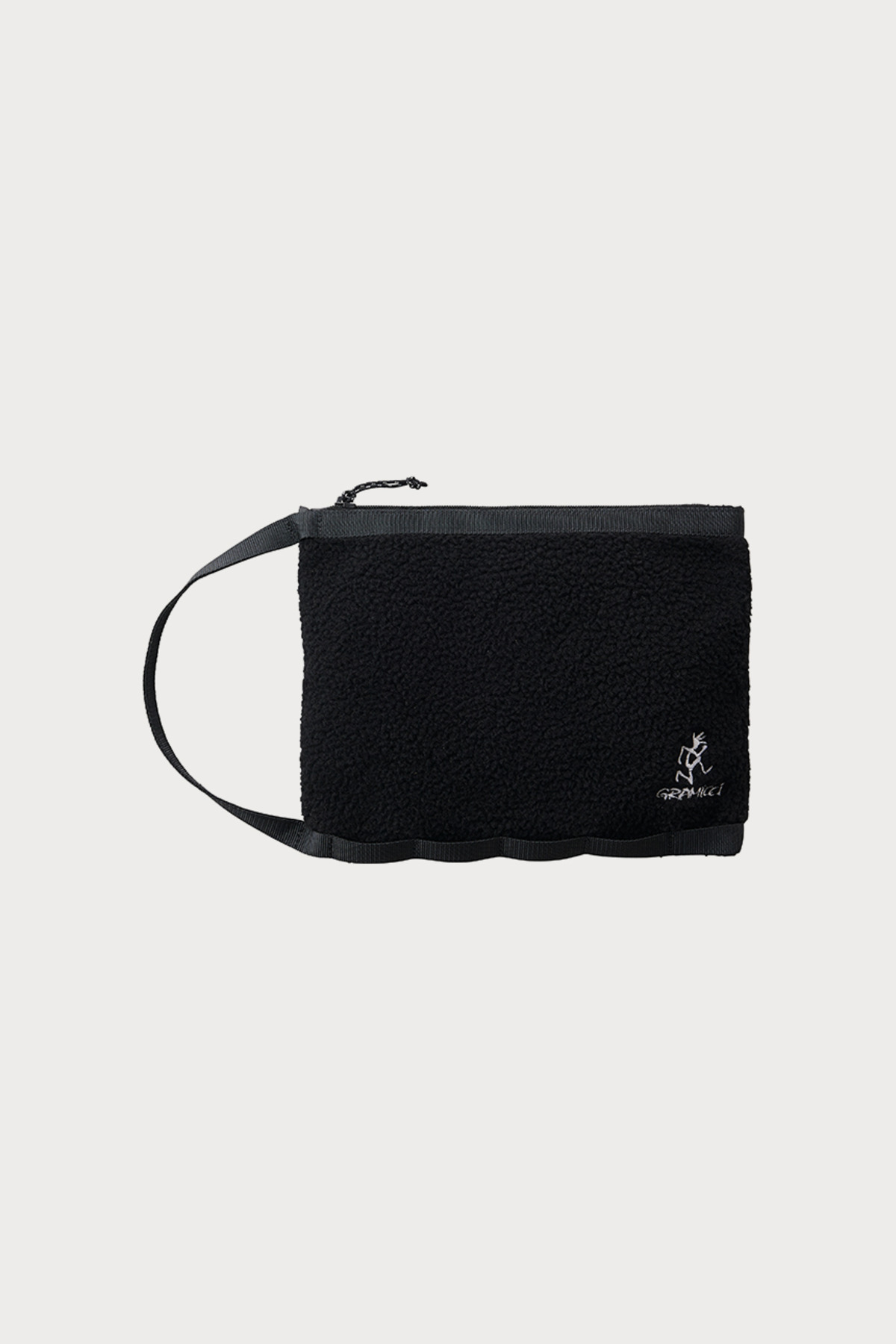 BOA FLEECE HANDLE POUCH BLACK