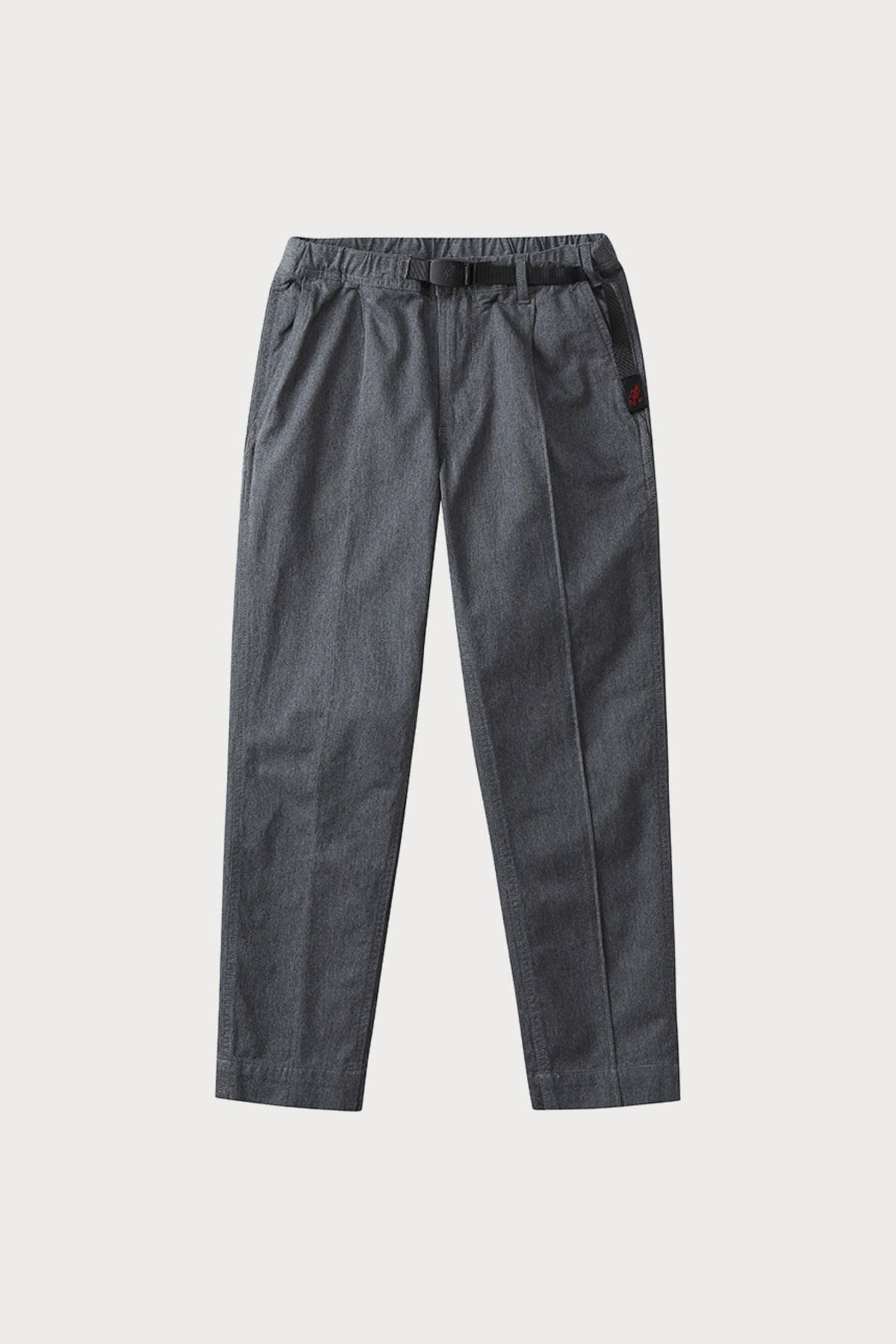 PINTUCK PANTS HEATHER GREY