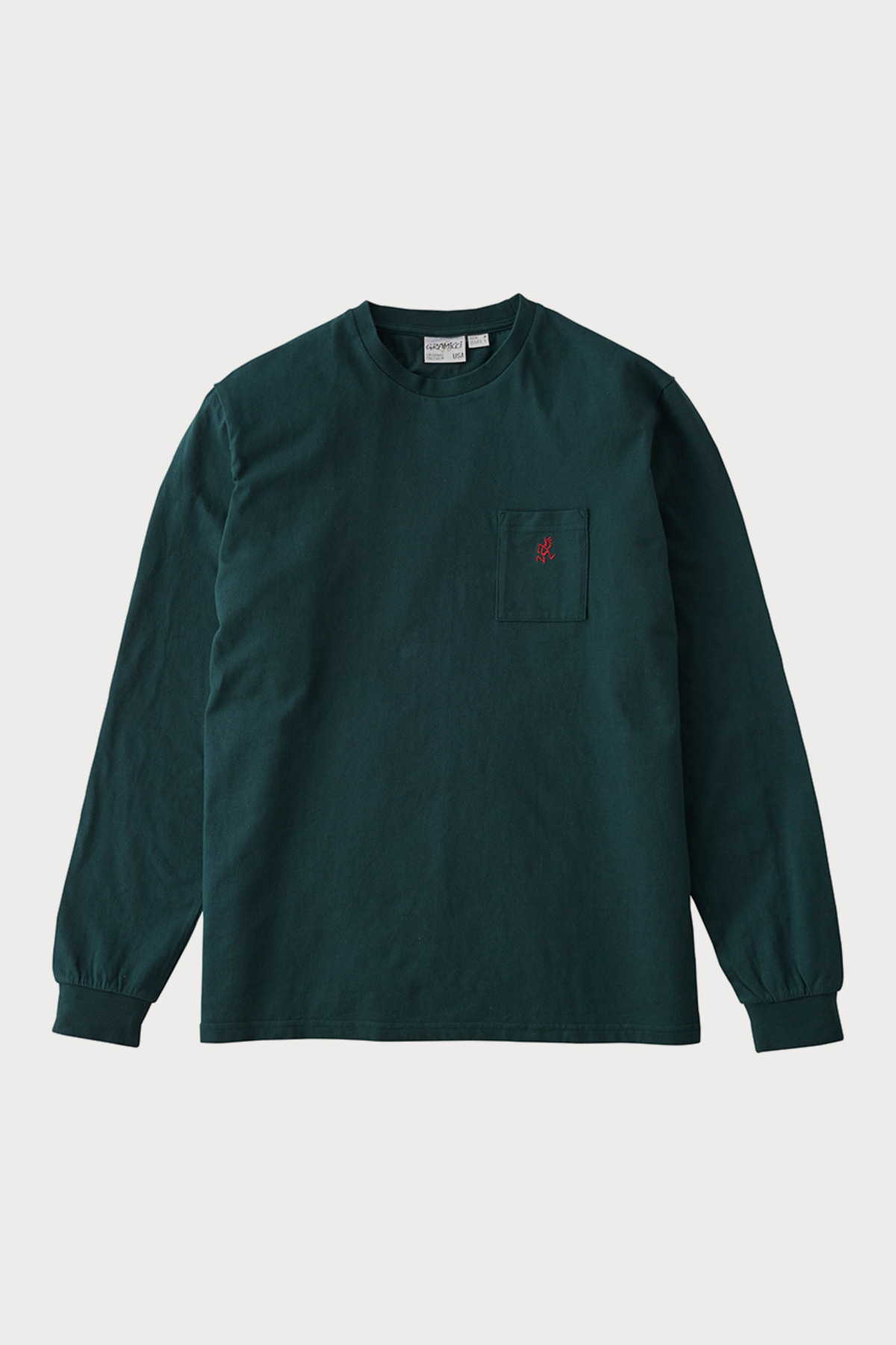 ONE POINT L/S TEE DEEP FOREST