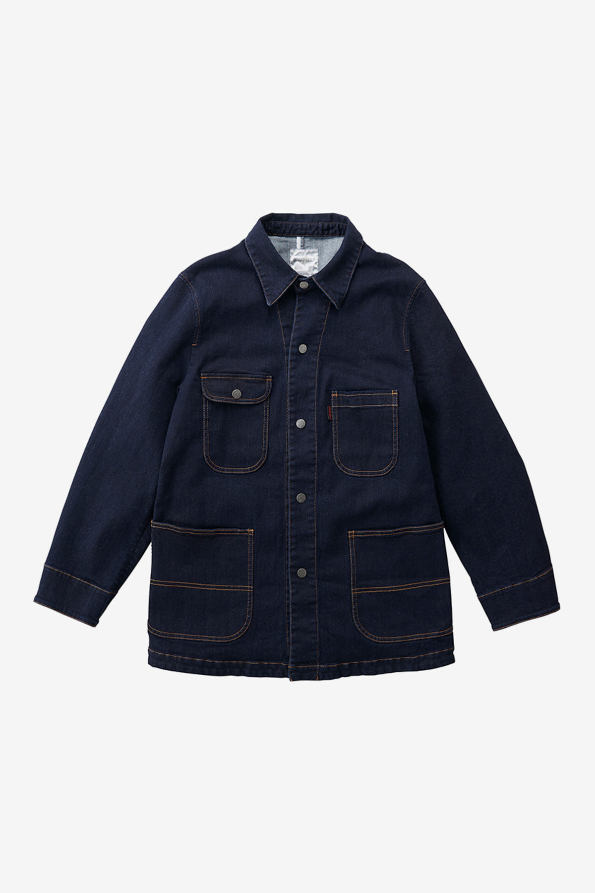 DENIM COVER ALL JACKET ONE WASH