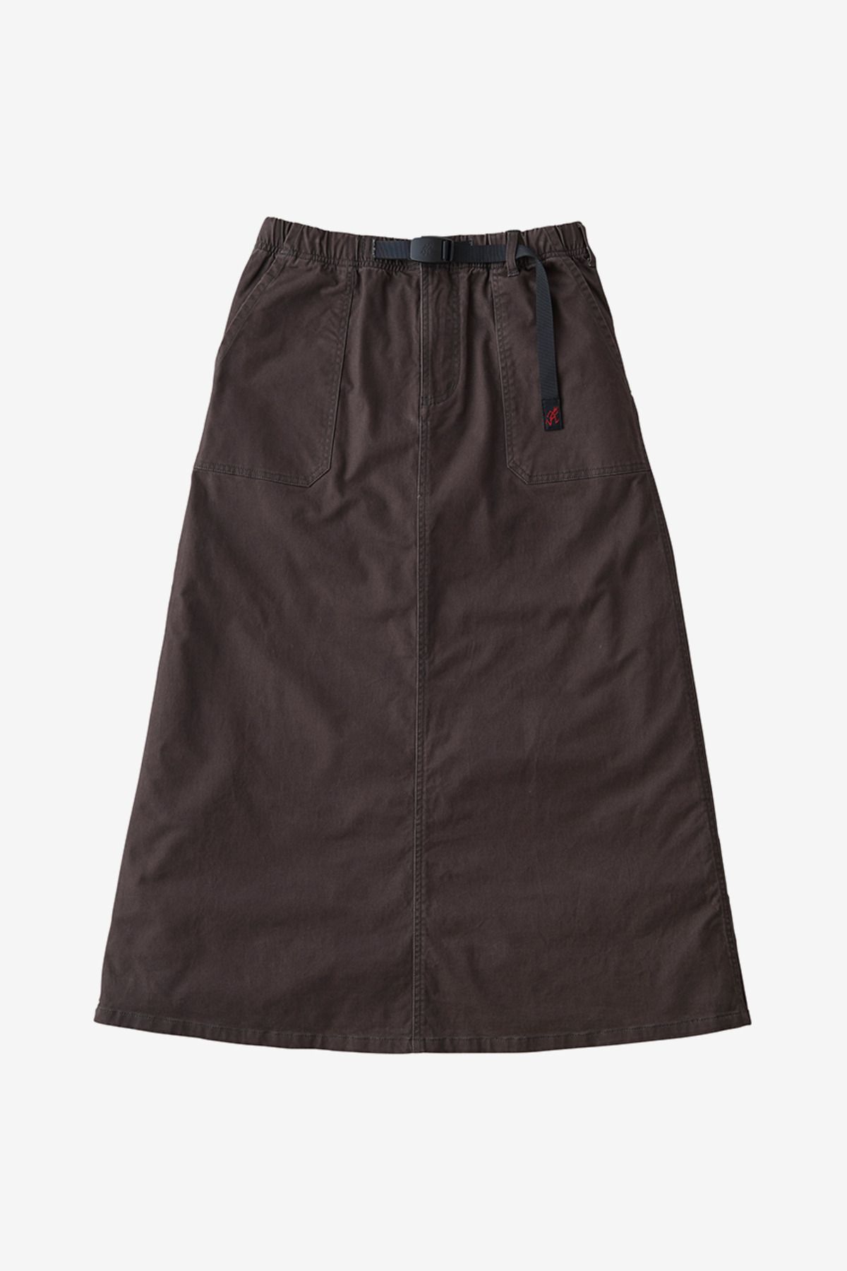 BAKER SKIRT DARK BROWN