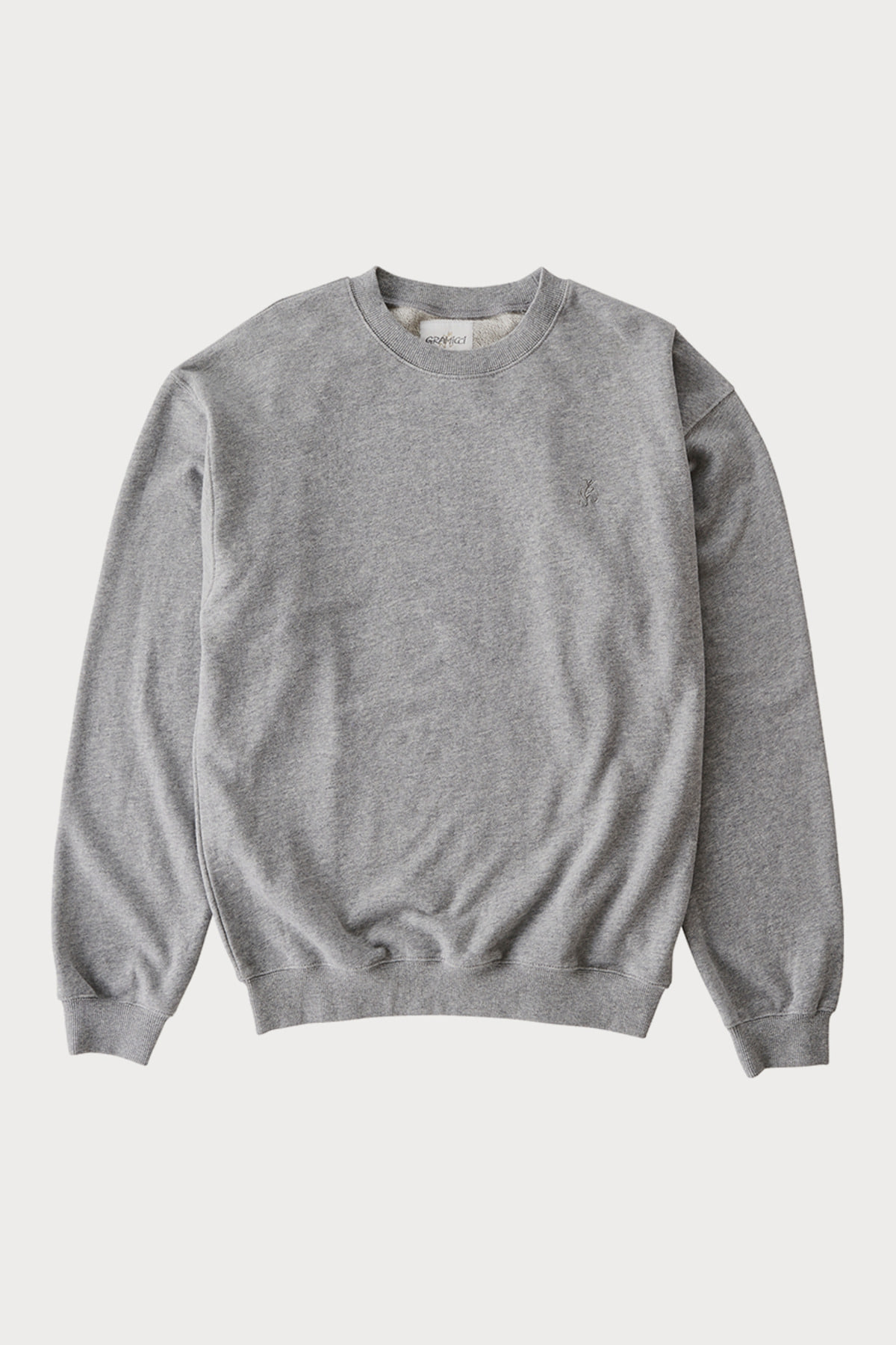 SWEAT SHIRTS HEATHER GREY